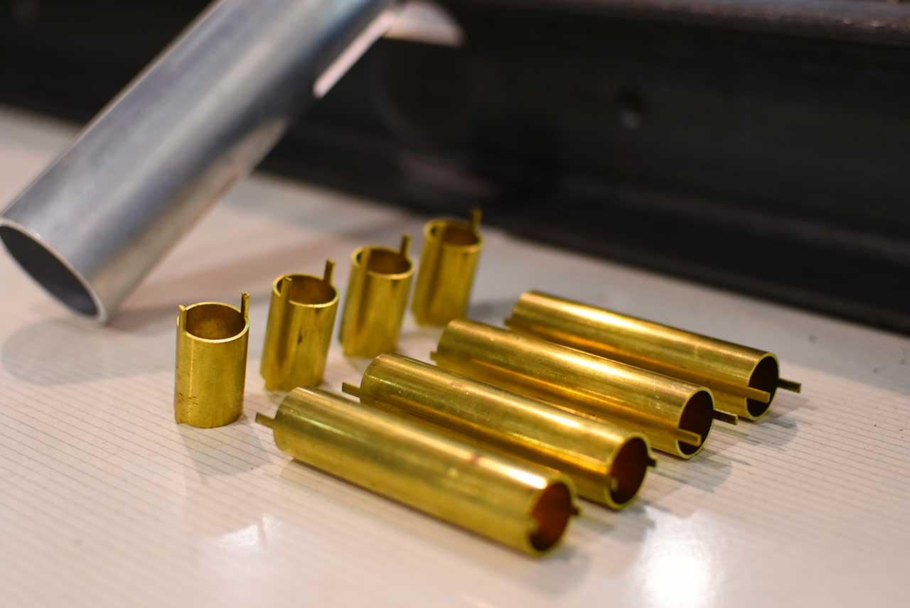 piezas láser de tubo